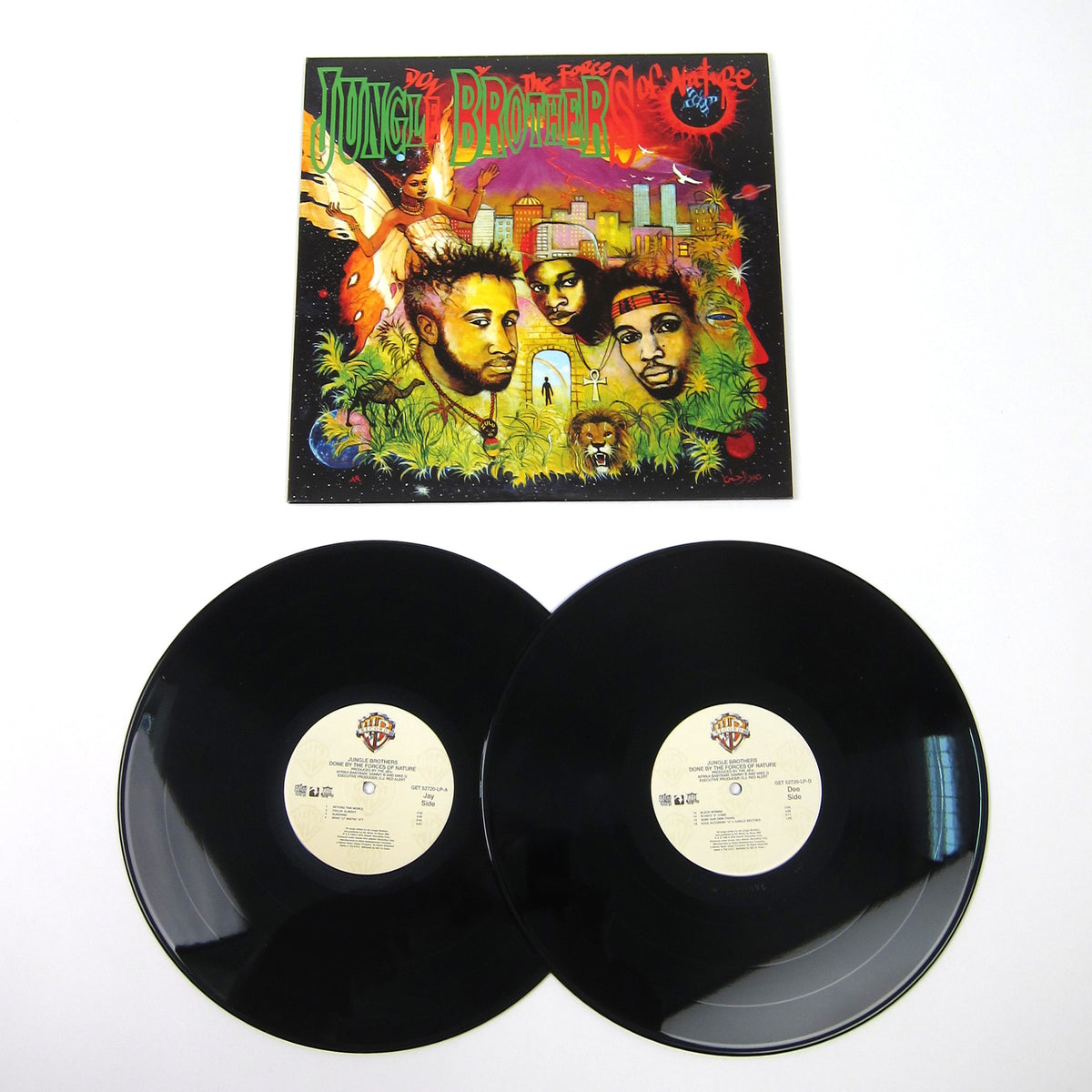 Jungle Brothers: Done By The Forces Of Nature Vinyl 2LP (Record Store Day)