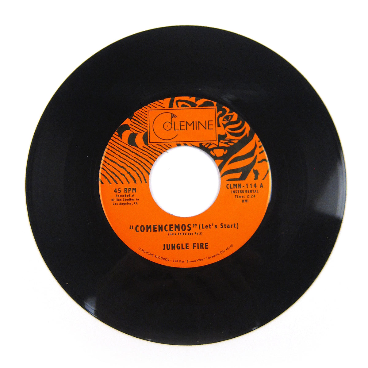Jungle Fire: Comencemos (Let's Start) Vinyl 7""