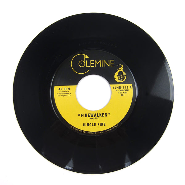Jungle Fire: Firewalker Vinyl 7""