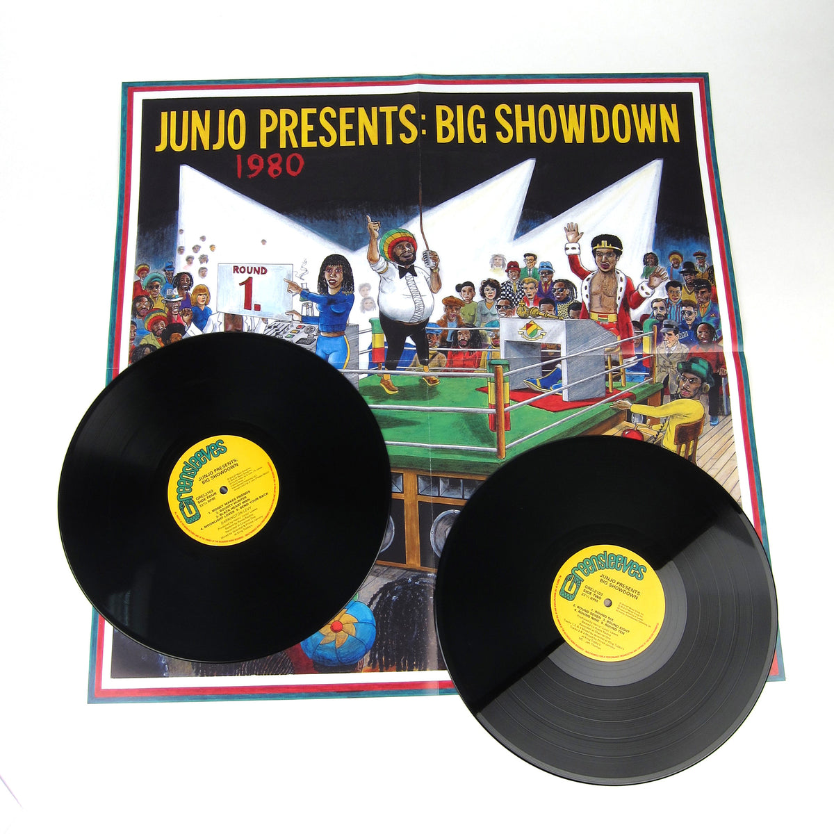 Henry Junjo Lawes: Junjo Presents - Big Showdown Vinyl 2LP