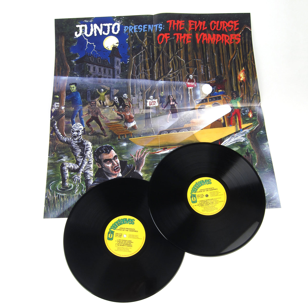 Henry Junjo Lawes: Junjo Presents - The Evil Curse Of The Vampires Vinyl 2LP