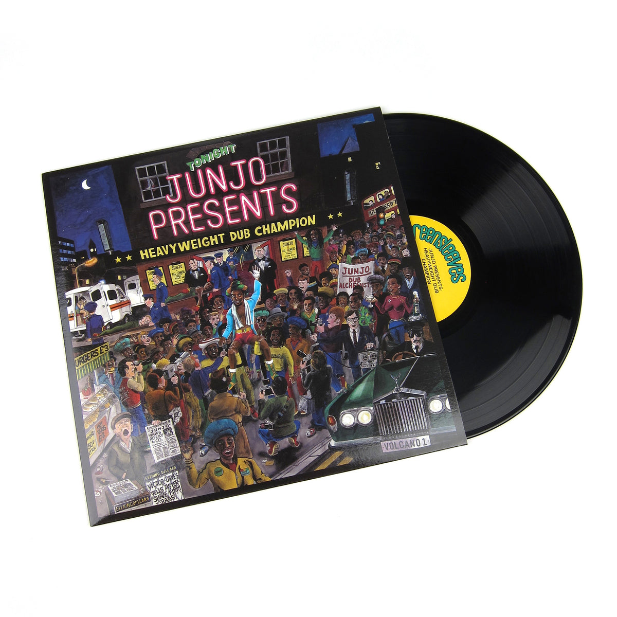 Henry Junjo Lawes: Junjo Presents - Heavyweight Dub Champion Vinyl 2LP