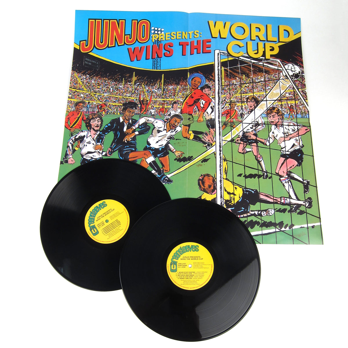 Henry Junjo Lawes: Junjo Presents - Wins The World Cup Vinyl 2LP
