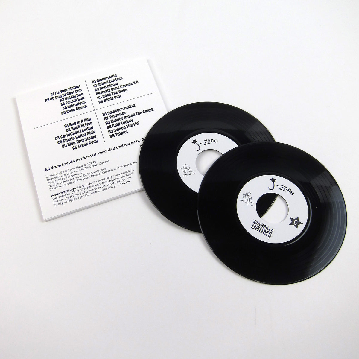 J-Zone: Guerrilla Drums Vinyl 2x7""
