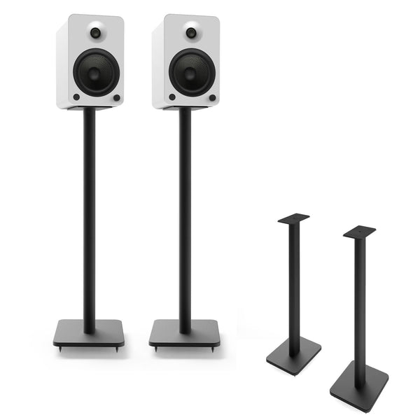 "Kanto: SP32PL Speaker Stands for YU4 / YU6 / TUK (32"" Height / Black / Pair)"