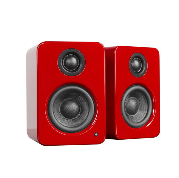 Kanto: YU2 Powered Bookshelf Speakers - Gloss Red (YU2GR)