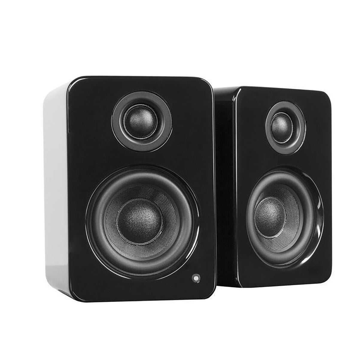 Kanto: YU2 Powered Bookshelf Speakers - Gloss Black (YU2GB)