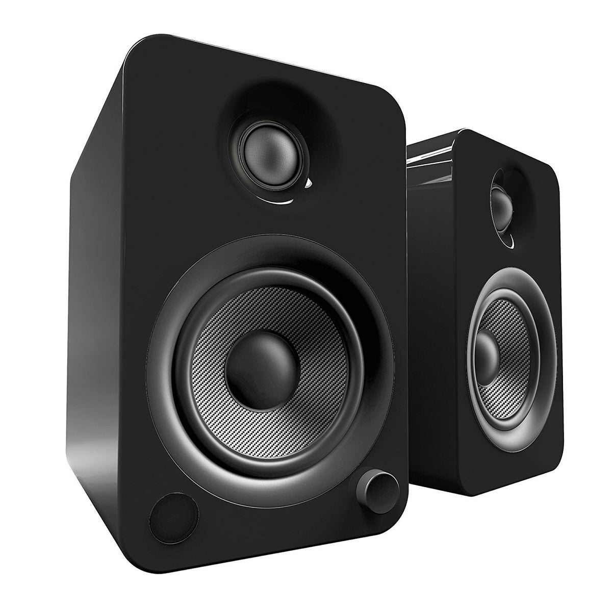 Kanto: YU4 Powered Bookshelf Speakers - Gloss Black (YU4GB)