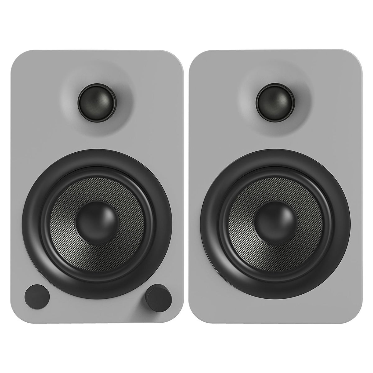 Kanto: YU4 Powered Bookshelf Speakers - Matte Grey (YU4MG)