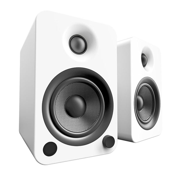 Kanto: YU4 Powered Bookshelf Speakers - Matte White (YU4MW)