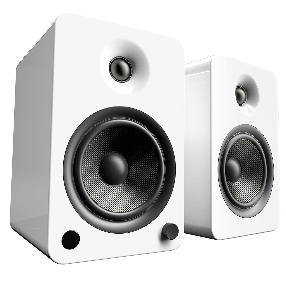 Kanto: YU6 Powered Bookshelf Speakers - Gloss White (YU6GW)