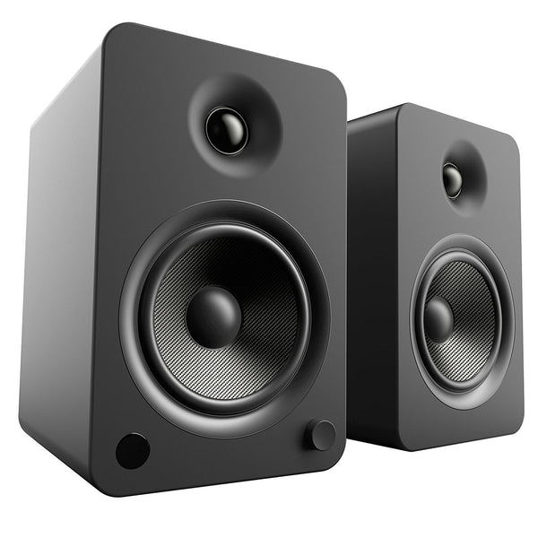 Kanto: YU6 Powered Bookshelf Speakers - Matte Black (YU6MB)