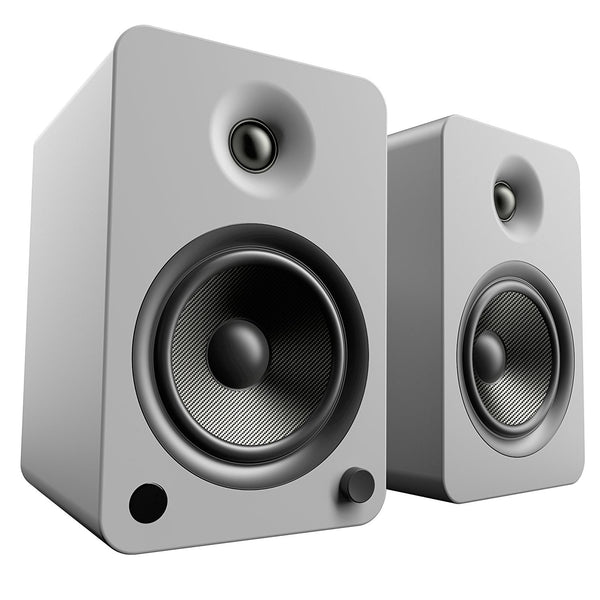 Kanto: YU6 Powered Bookshelf Speakers - Matte Grey (YU6MG)