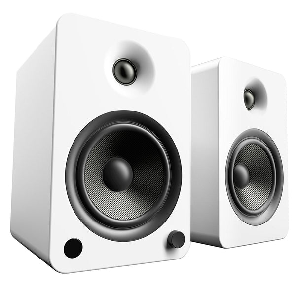 Kanto: YU6 Powered Bookshelf Speakers - Matte White (YU6MW)