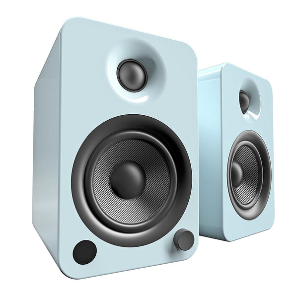 Kanto: YU4 Powered Bookshelf Speakers - Gloss Teal (YU4GT)