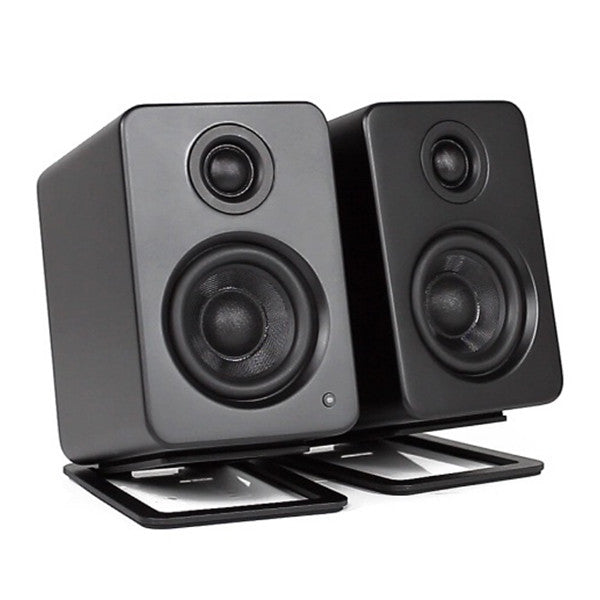 Kanto: S2 Desktop Speaker Stands for YU2  (Black / Pair)
