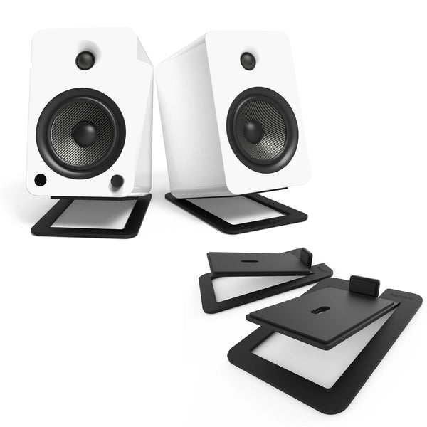 Kanto: S6 Desktop Speaker Stands for YU6 / TUK (Black / Pair)