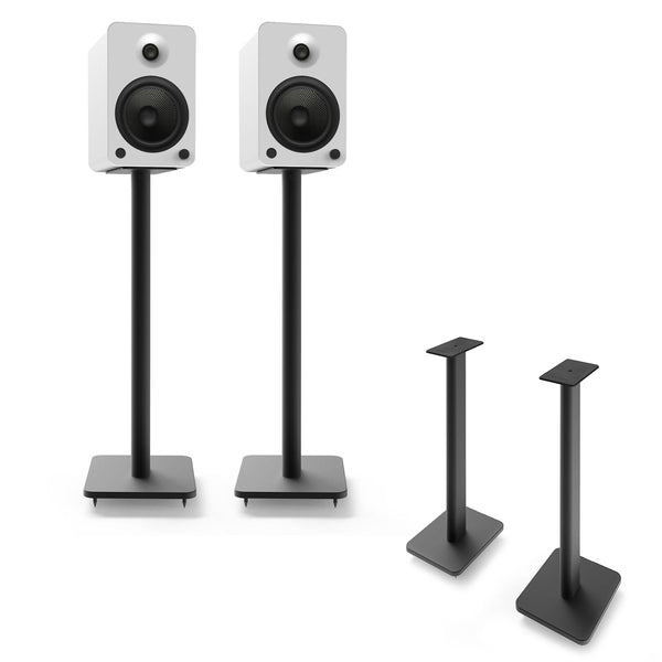 "Kanto: SP26PL Speaker Stands for YU4 / YU6 / TUK (26"" Height / Black / Pair)"