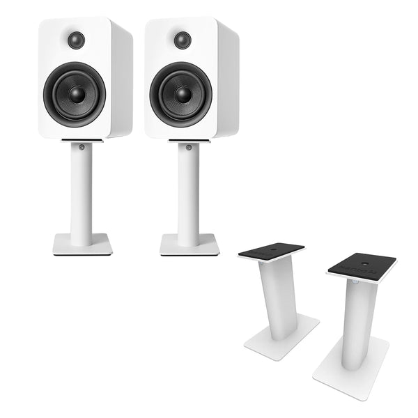 "Kanto: SP9 Desktop Speaker Stands for YU2 / YU4 (9"" Height / White / Pair)"