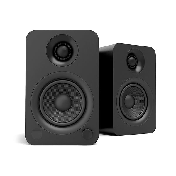 Kanto: YU Powered Bookshelf Speakers - Black