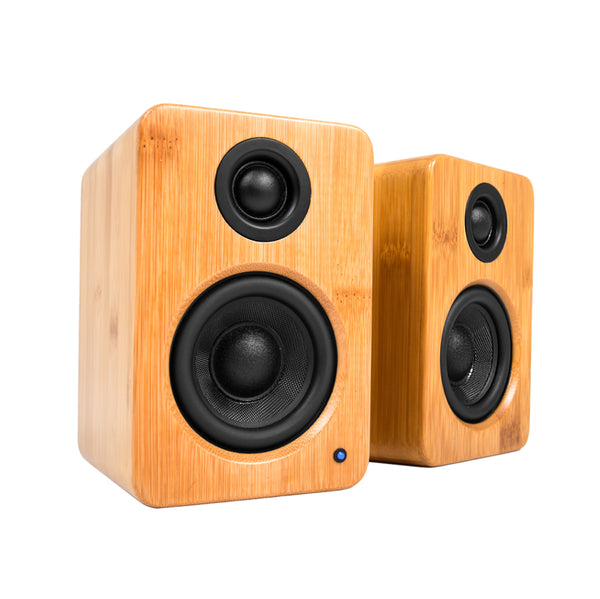Kanto: YU2 Powered Bookshelf Speakers - Bamboo (YU2BAMBOO)