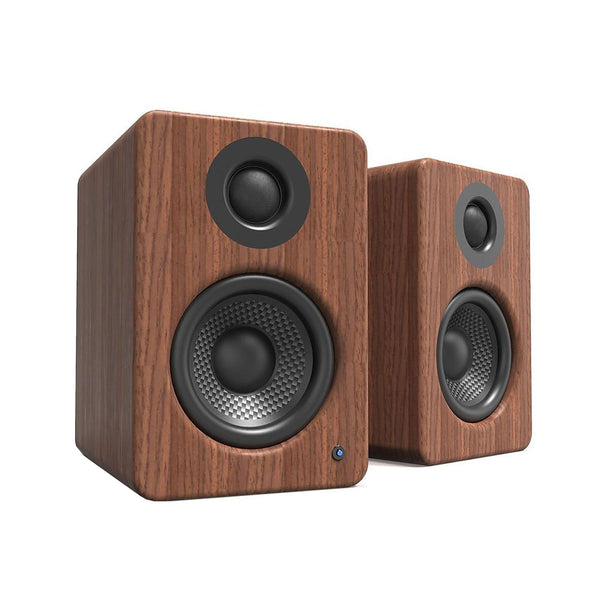 Kanto: YU2 Powered Bookshelf Speakers - Walnut