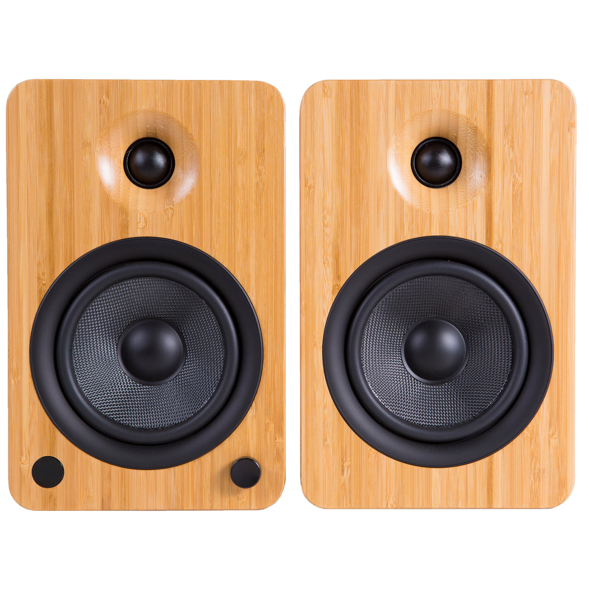 Kanto: YU6 Powered Bookshelf Speakers - Bamboo (YU6BAMBOO)