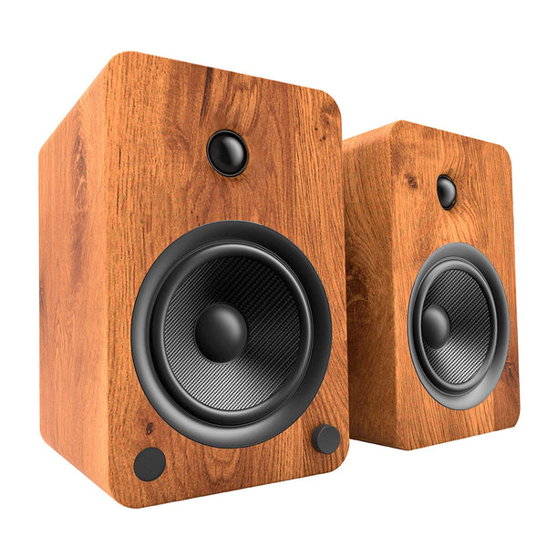 Kanto: YU6 Powered Bookshelf Speakers - Walnut (YU6WALNUT)