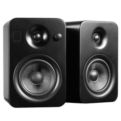 Kanto: Yumi Bookshelf Speakers - Matte Black