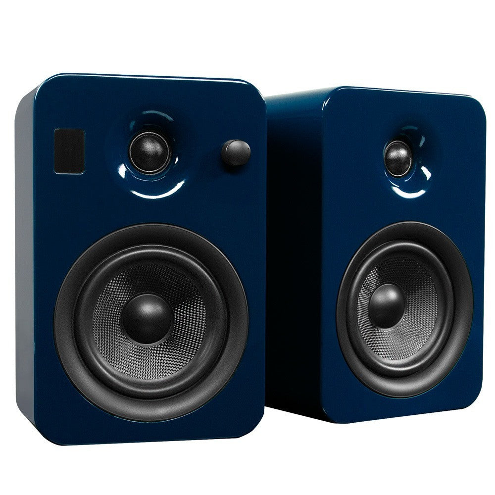 Kanto: Yumi Bookshelf Speakers - Gloss Blue (YUMIBLUGL)