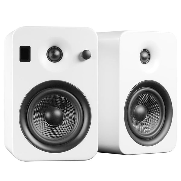 Kanto: Yumi Bookshelf Speakers - Matte White
