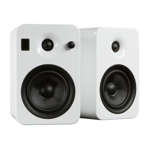 Kanto: Yumi Bookshelf Speakers - Gloss White (YUMIWHTGL)
