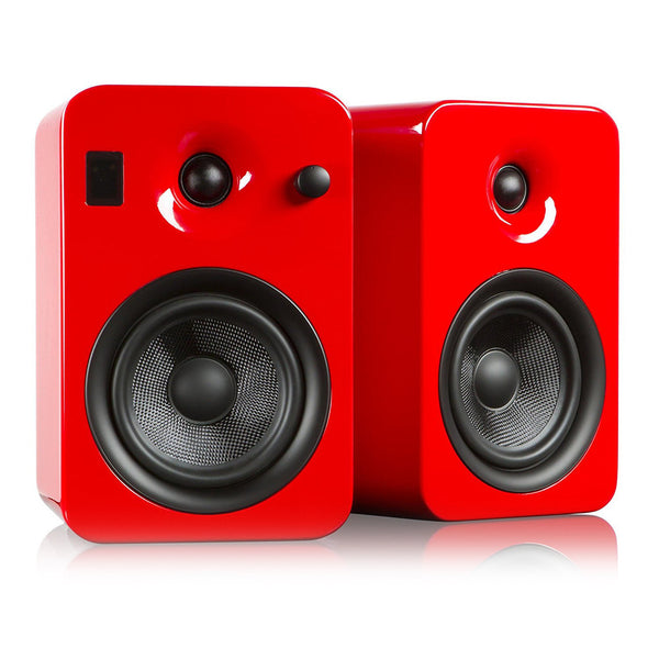 Kanto: Yumi Bookshelf Speakers - Gloss Red (YUMIREDGL)