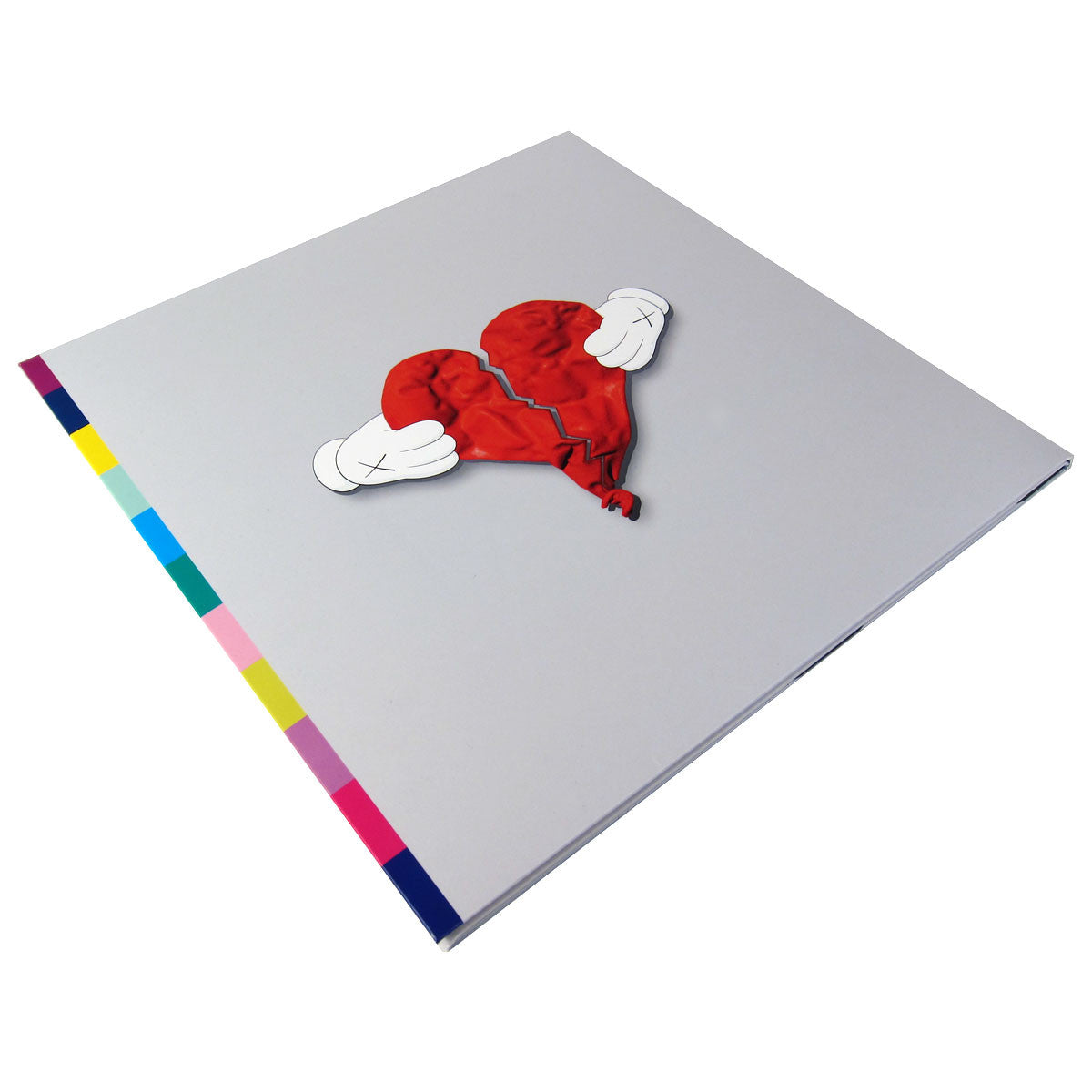 Kanye West 808s Heartbreak Free CD Vinyl 2LP