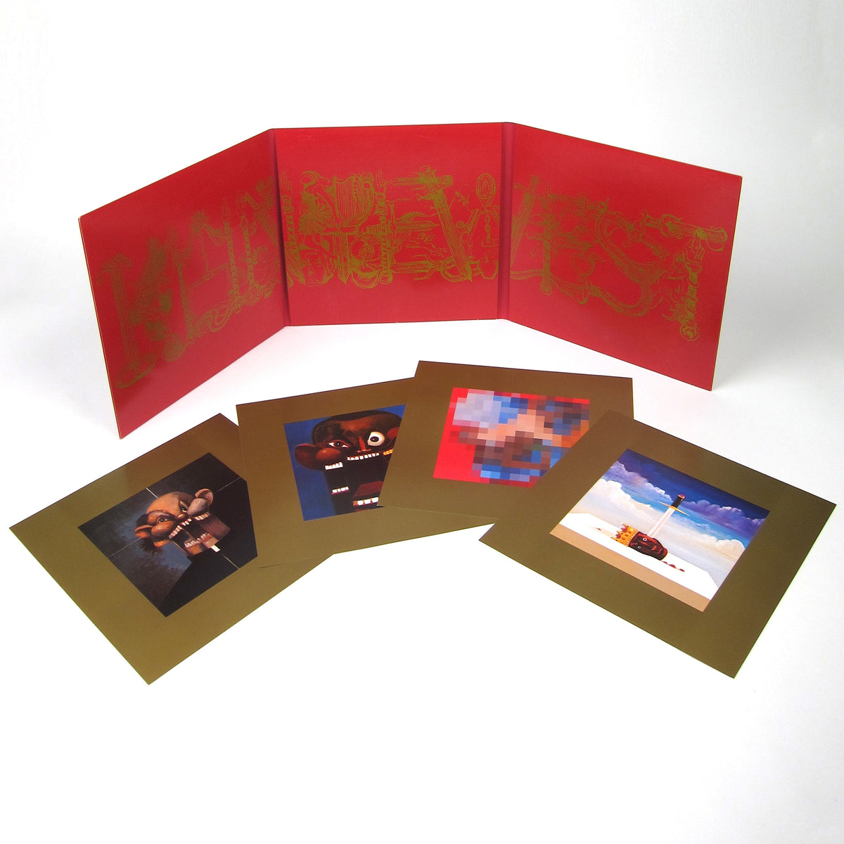 Kanye West: My Beautiful Dark Twisted Fantasy Vinyl 3LP