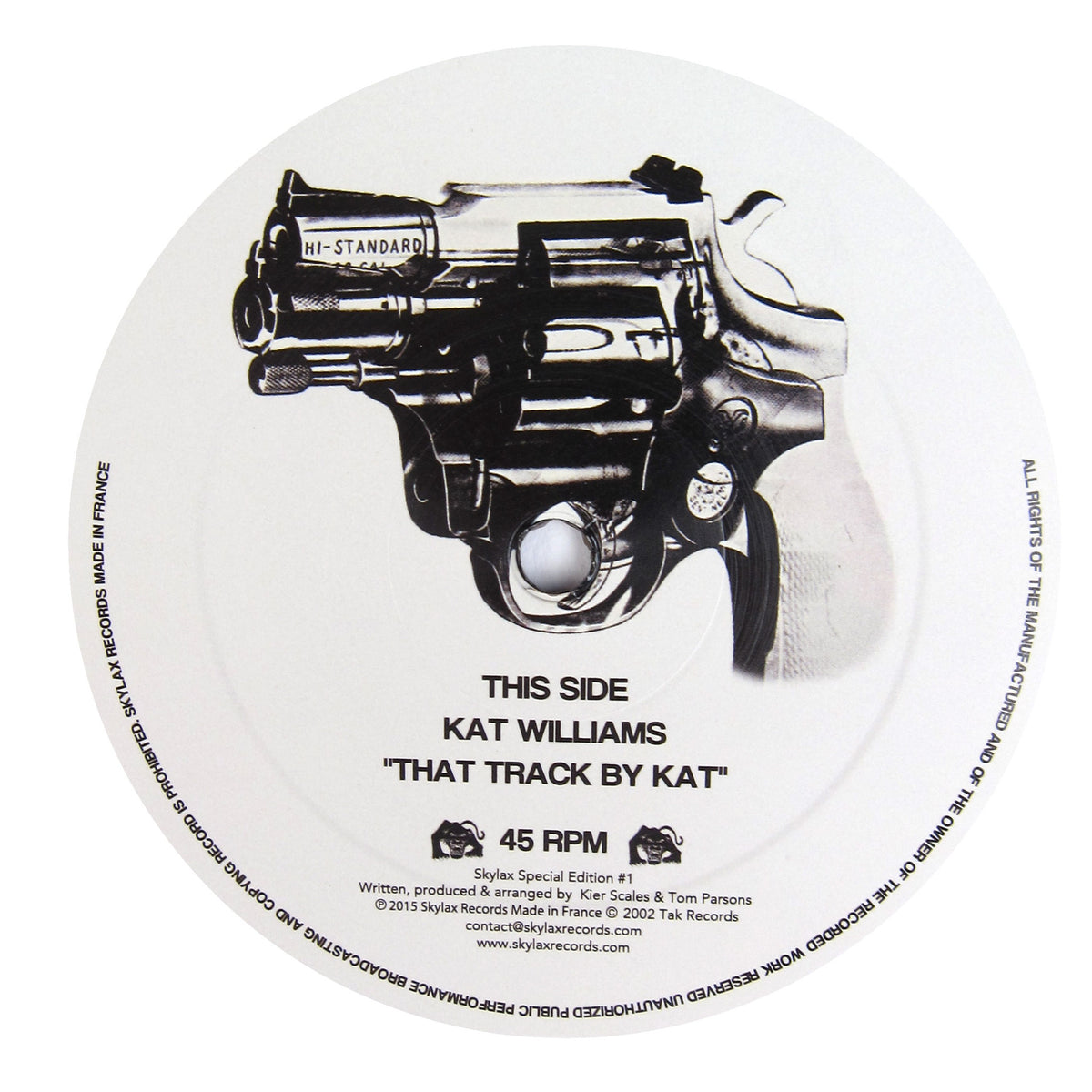 Kat Williams: That Track By Kat Vinyl 12""