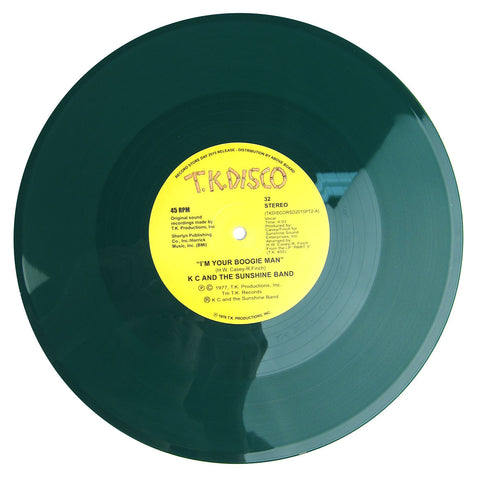 "KC & The Sunshine Band: I'm Your Boogie Man (Todd Terje Edit) Vinyl 10"" (Record Store Day)"