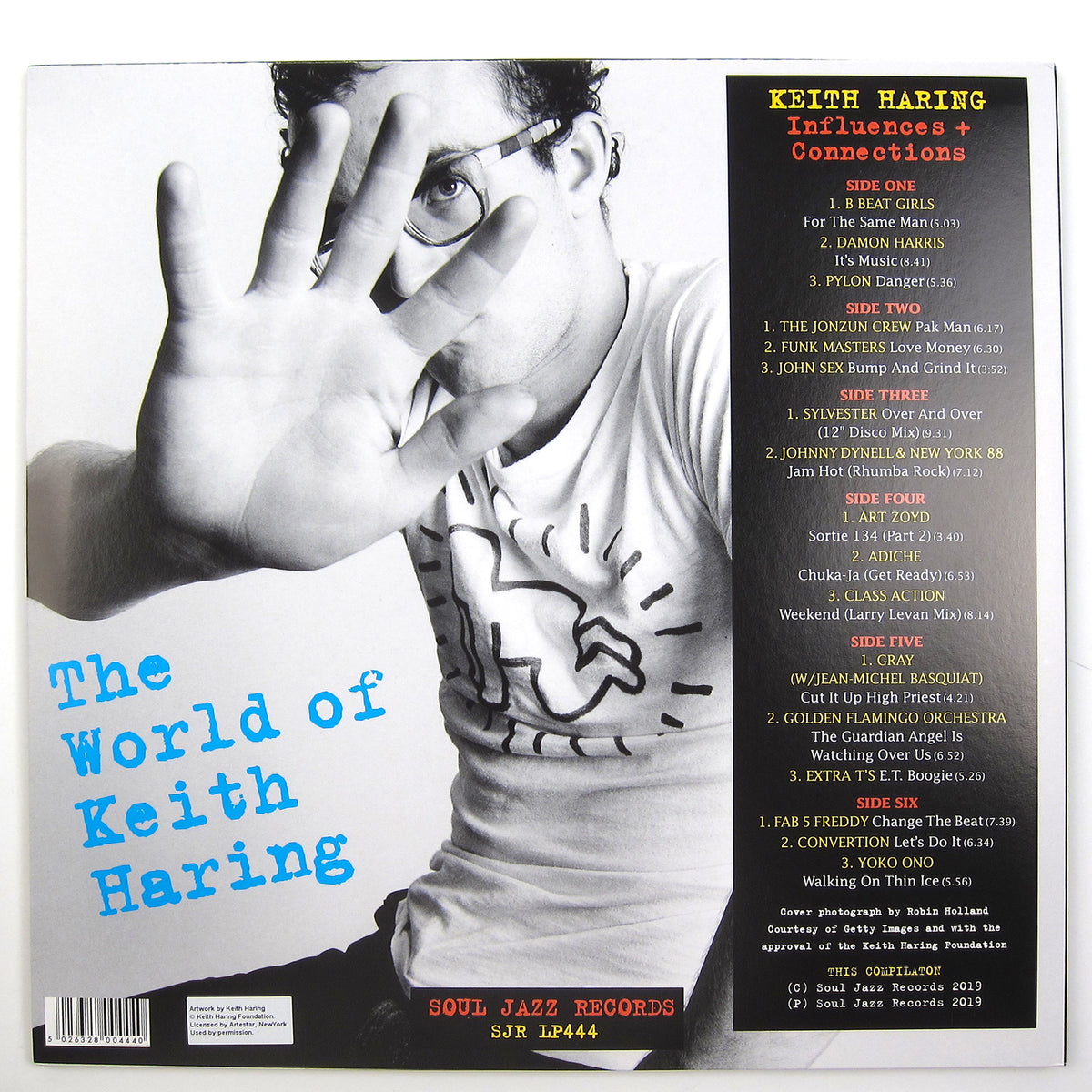 Soul Jazz Records: The World of Keith Haring Vinyl 3LP+7""