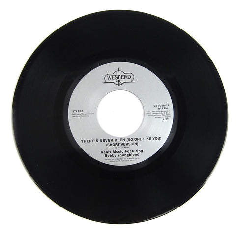 Kenix Feat. Bobby Youngblood: There's Never Been (No One Like You) Vinyl 7""