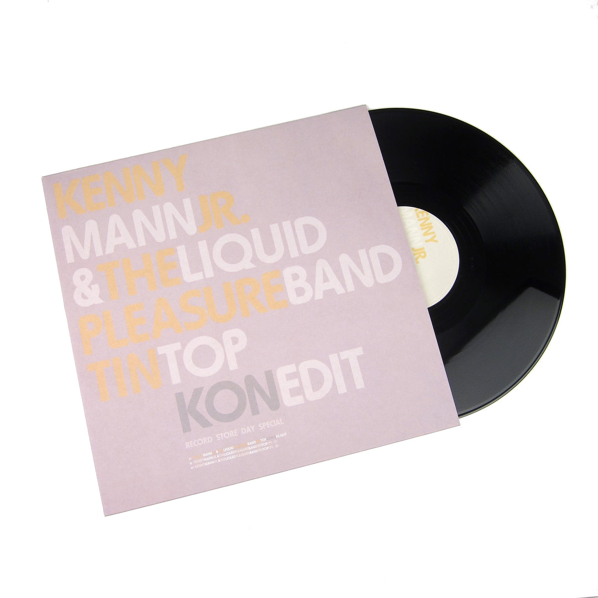 "Kenny Mann Jr. & Liquid Pleasure: Tin Top (Kon Edit) Vinyl 12"" (Record Store Day)"