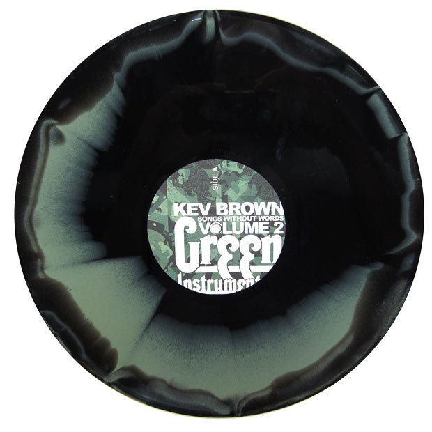 Kev Brown: Songs Without Words Vol. 2: Green Instrumentals LP 2