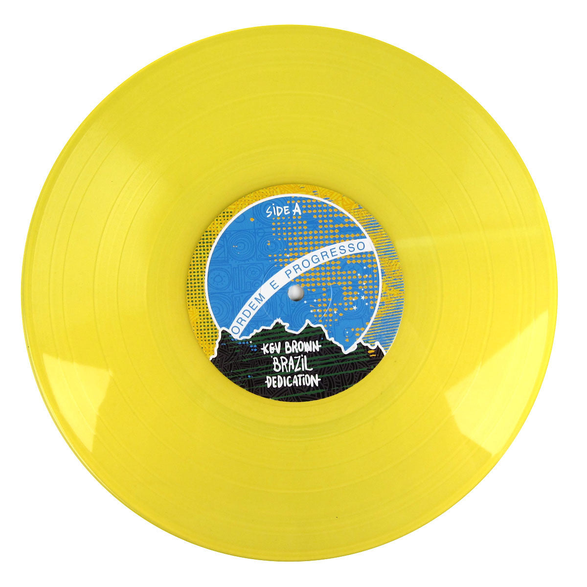 Kev Brown: Brazil Dedication (Colored Vinyl) 10""