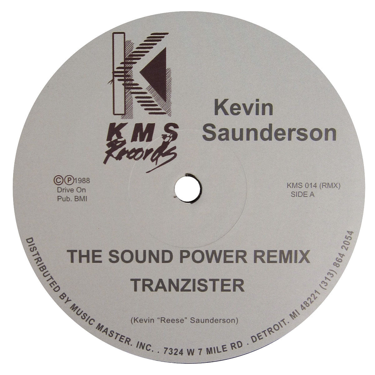 Kevin Saunderson: The Sound (Power Remix) Vinyl 12""