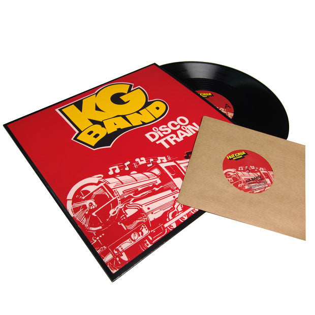 "KG Band: Disco Train 12"" + Bonus 7"""