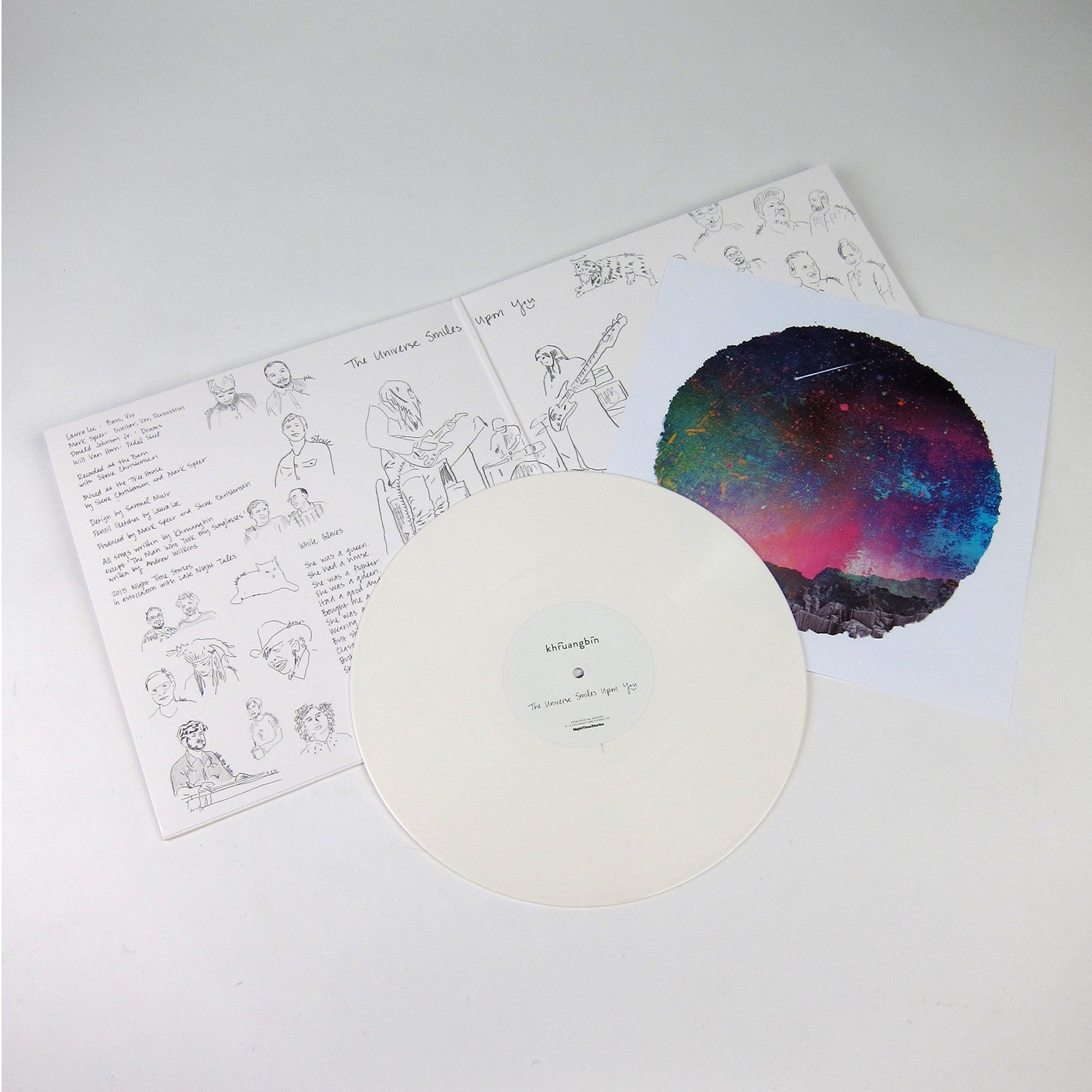 Khruangbin The Universe Smiles Upon You Colored Vinyl