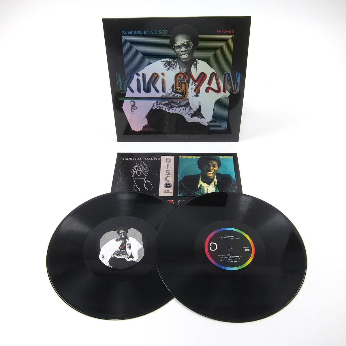 Kiki Gyan: 24 Hours In A Disco 1978-82 (180g) Vinyl 2LP