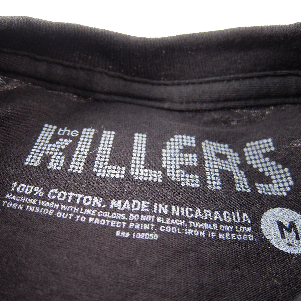 The Killers: Classic Logo Shirt - Black