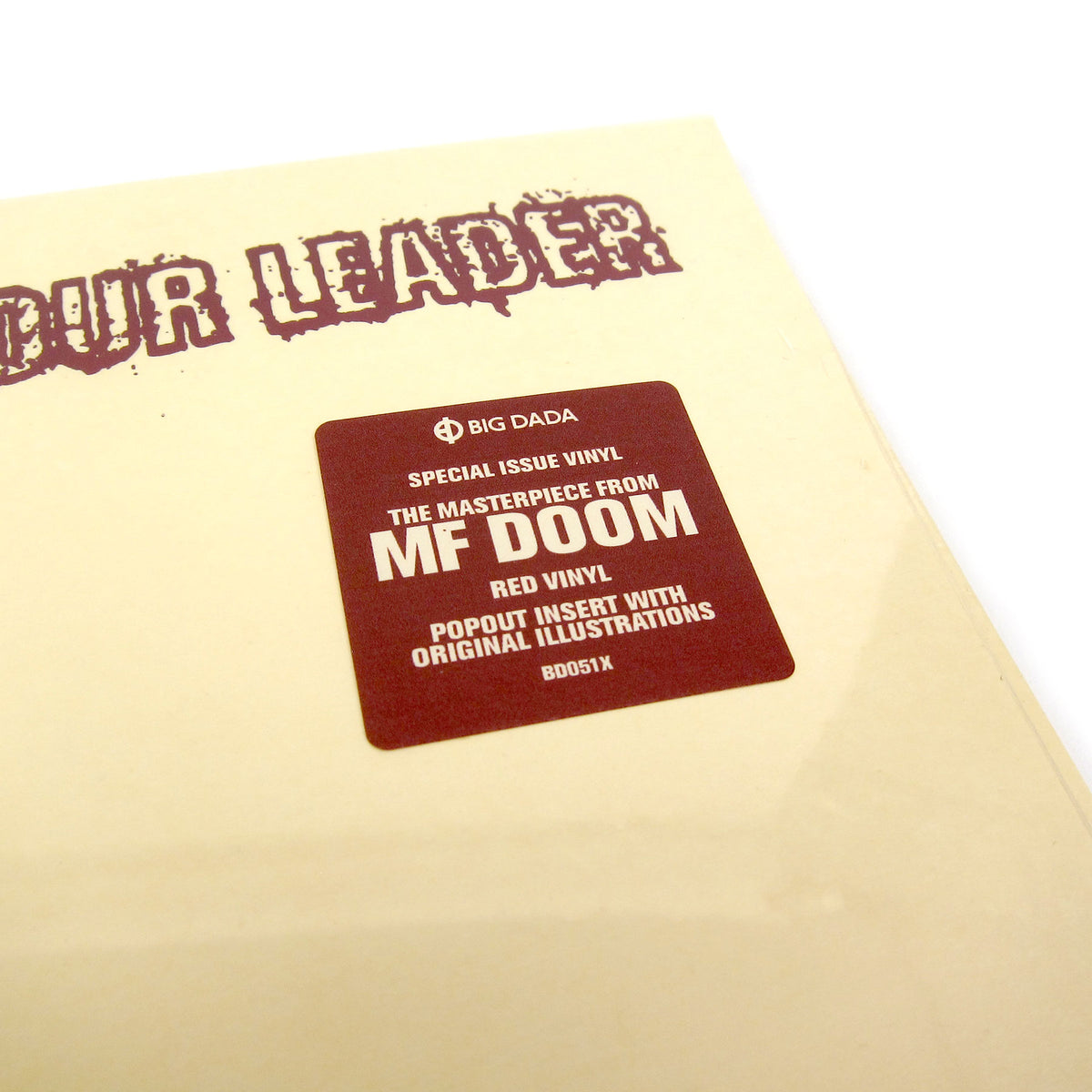 MF Doom: King Geedorah - Take Me To Your Leader Deluxe (Colored Vinyl) Vinyl 2LP