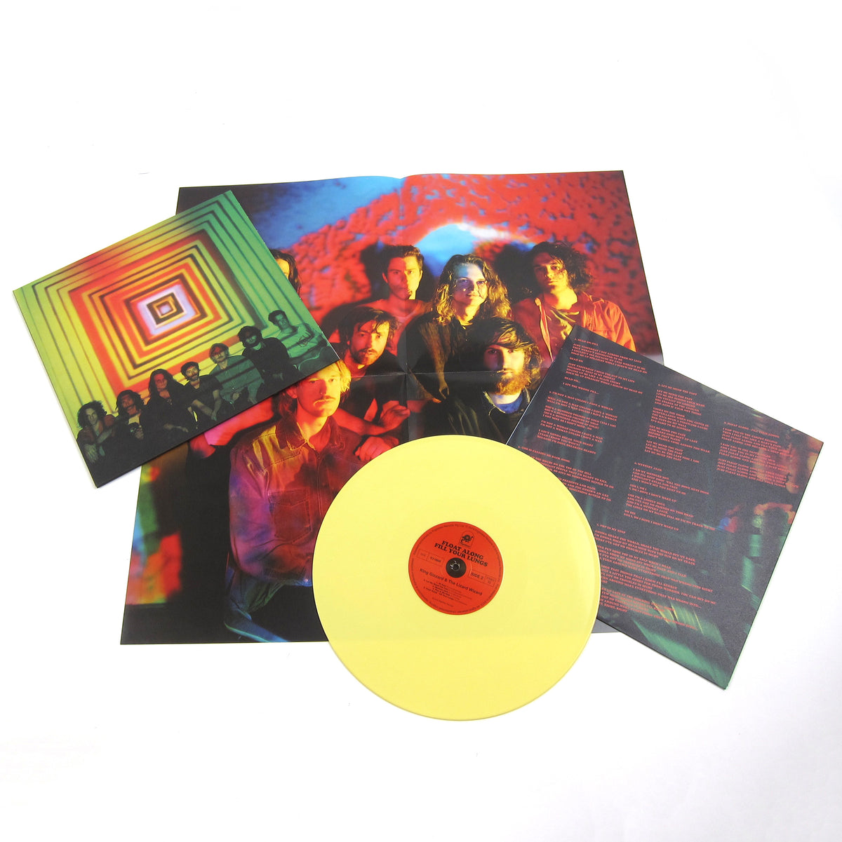 King Gizzard And The Lizard Wizard: Float Along - Fill Your Lungs (Colored Vinyl) Vinyl LP