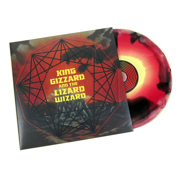King Gizzard And The Lizard Wizard: Nonagon Infinity (Yellow/Red/Black Marble Colored Vinyl) Vinyl LP